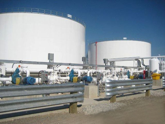 Jet Fuel Tanks, Pearson Intl. Airport